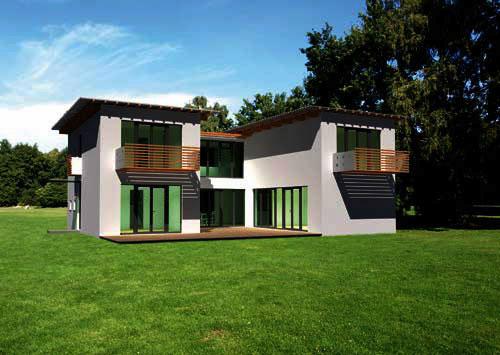 Bauweise for Modernes haus kubus